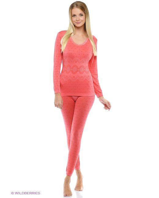 Burlesco | Женское Розовое Термобелье