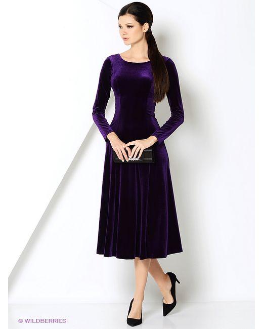 RUXARA | Женские Фиолетовые Платья