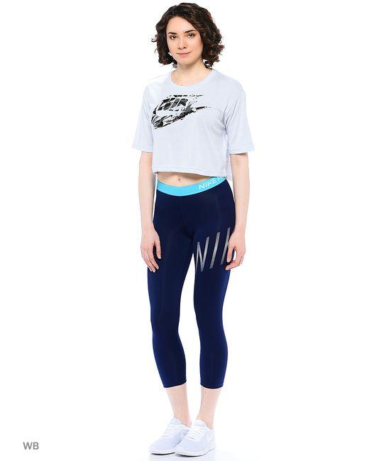 Nike | Женские Синие Бриджи