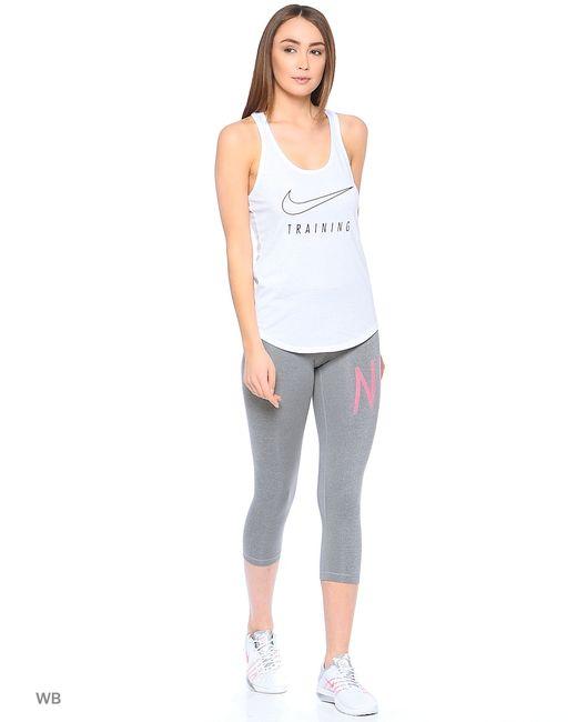 Nike   Женские Серые Бриджи