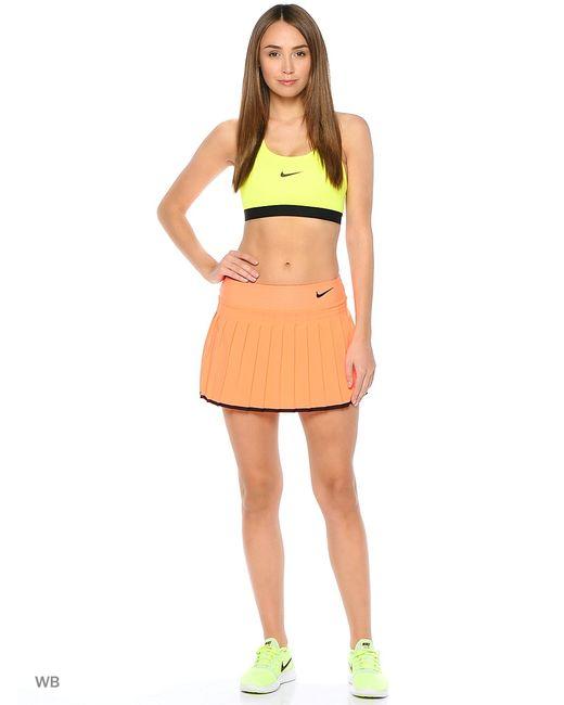 Nike   Женская Оранжевая Юбка Victory Skirt
