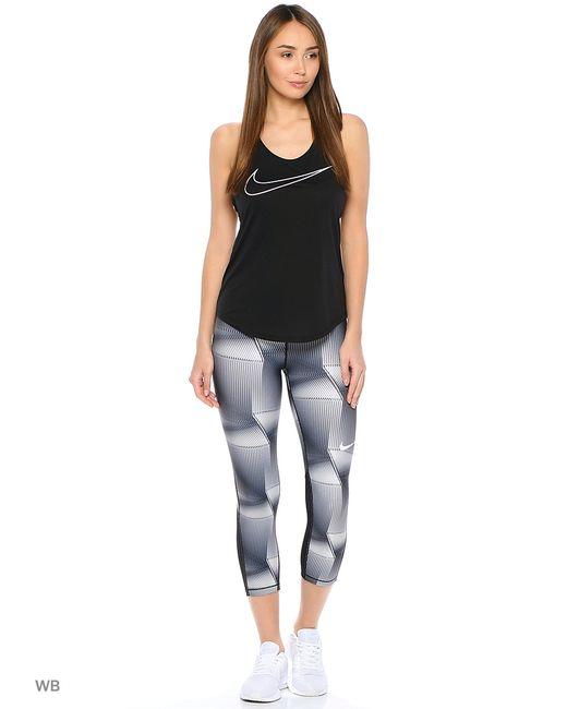 Nike | Женское Чёрное Капри W Np Cl Cpri Pyramid