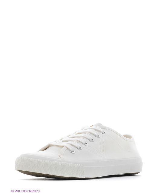 Mango Man   Мужские Белые Туфли