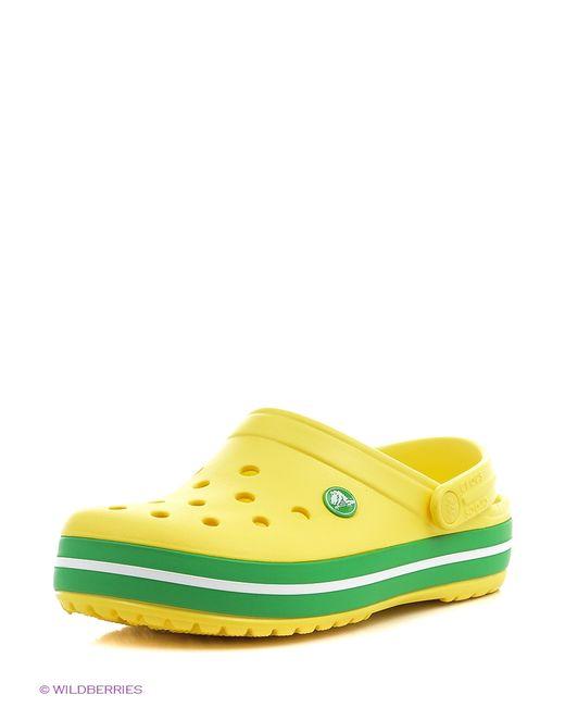 Crocs | Мужское Жёлтое Сабо