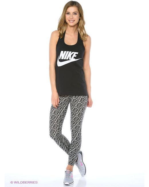 Nike | Женские Чёрные Леггинсы
