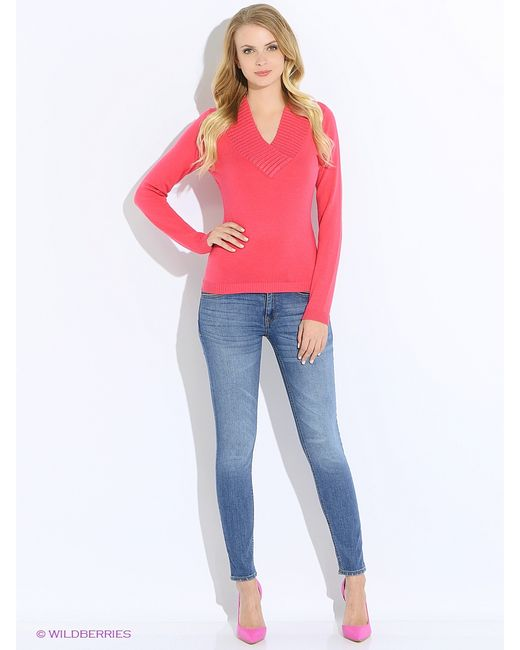 Oodji | Женские Розовые Пуловеры