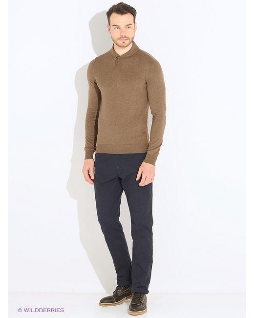 Oodji   Мужские Коричневые Пуловеры
