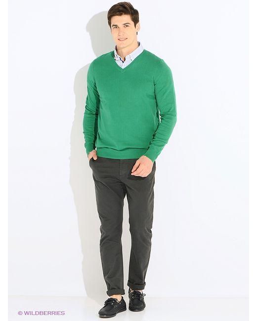 Oodji | Мужские Зелёные Пуловеры
