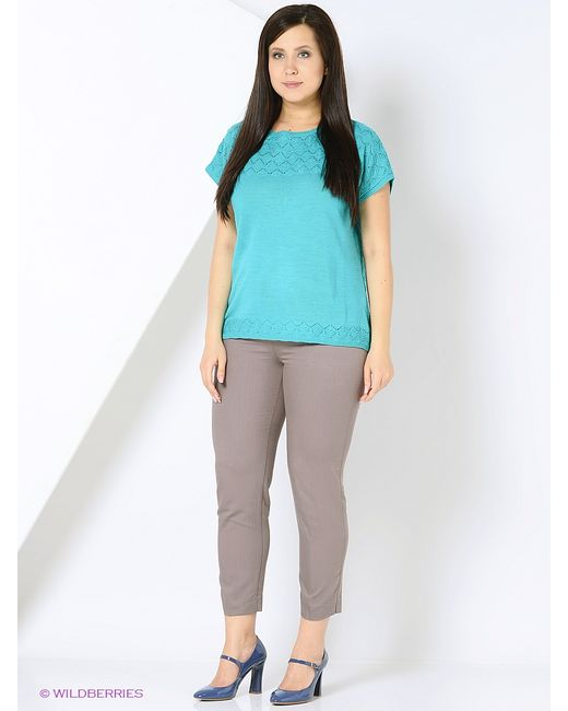 Milana Style   Женские Лазурные Джемперы
