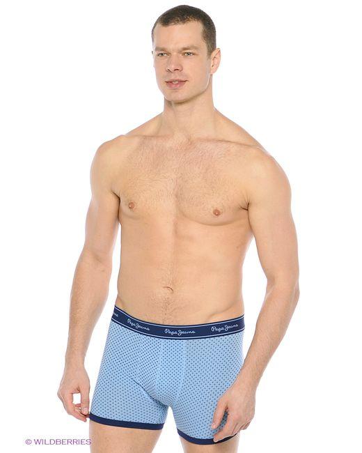 Pepe Jeans London   Мужские Синие Трусы