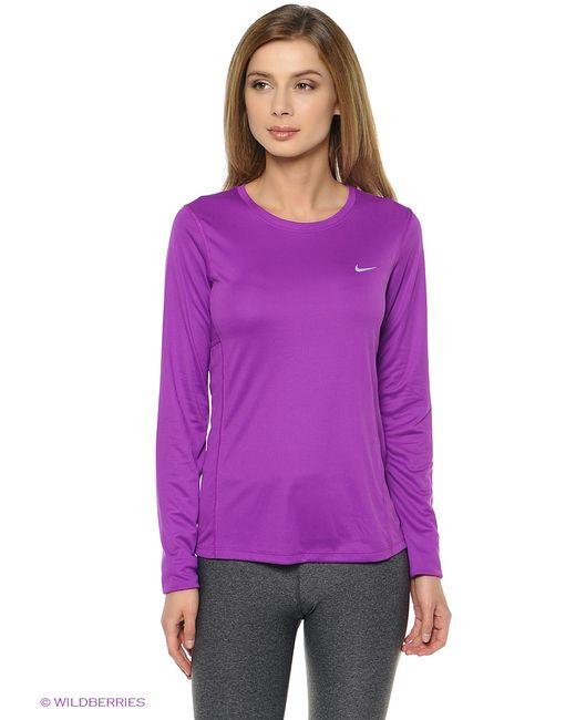 Nike   Женский Фиолетовый Лонгслив