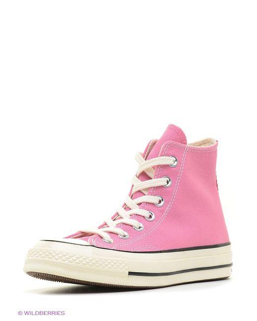 Converse | Мужские Розовые Кеды