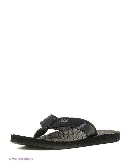 Dcshoes | Мужские Чёрные Пантолеты Dc Shoes