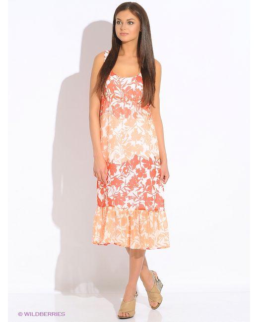 Sisley | Женские Кремовые Платья