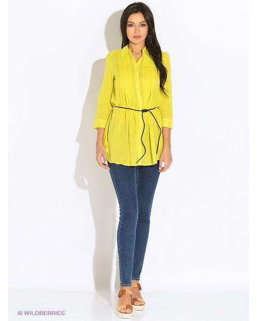 Oodji | Женские Жёлтые Блузки