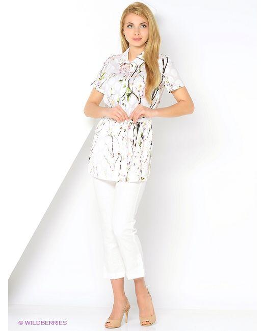 La Fleuriss   Женские Белые Рубашки