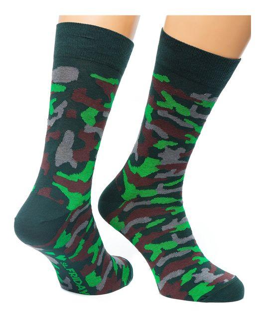 St.Friday Socks | Мужские Хаки Носки