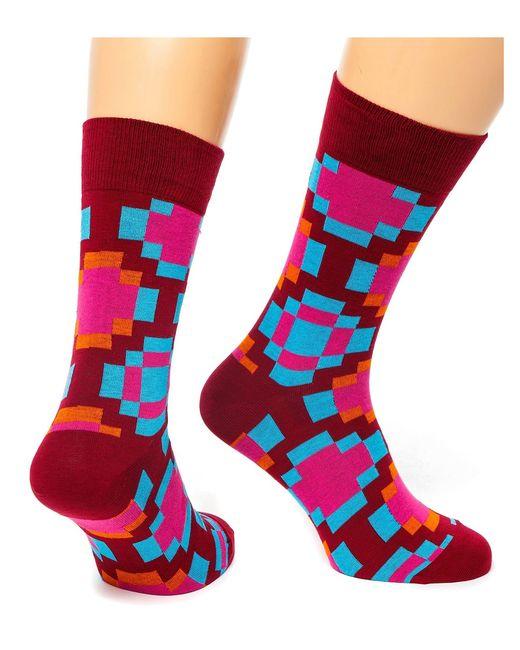 St.Friday Socks | Мужские Красные Носки