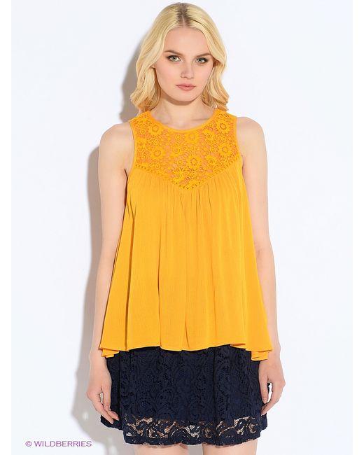 Oodji | Женские Оранжевые Блузки