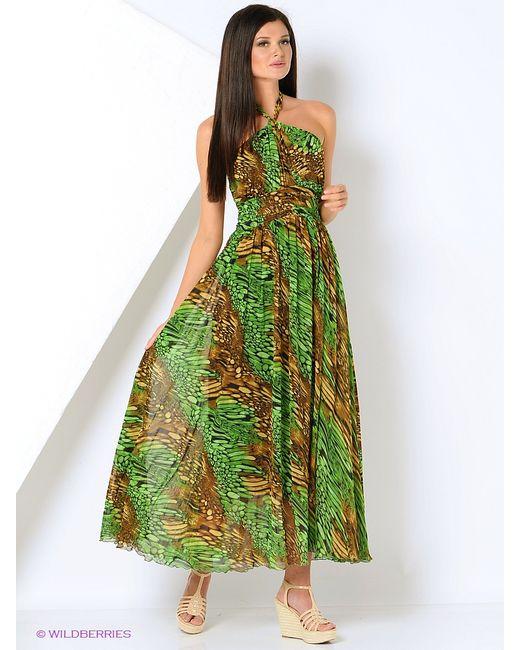 Мадам Т | Женские Зелёные Платья Мадам Т