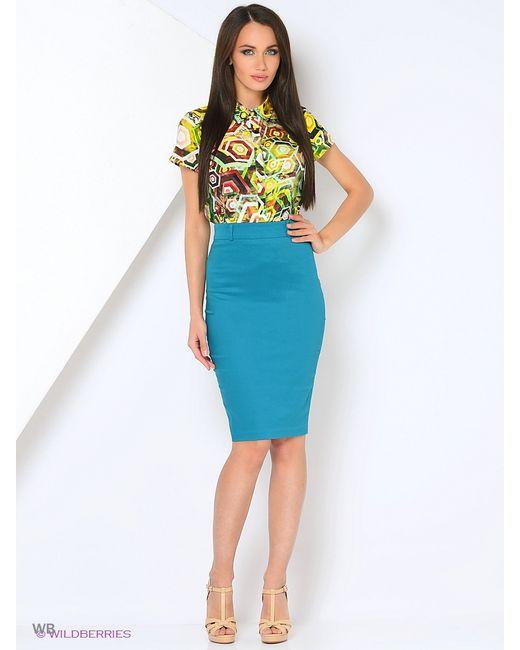 Milana Style   Женские Голубы Юбки