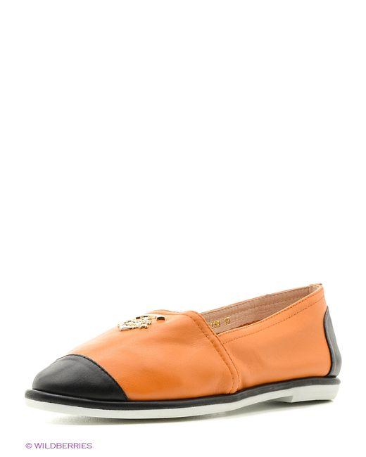 Vitacci   Женские Оранжевые Туфли