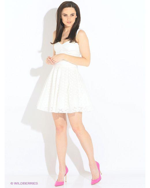 Guess | Женские Молочные Платья