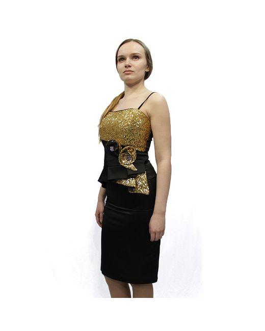Lawiggi | Женские Золотистые Платья