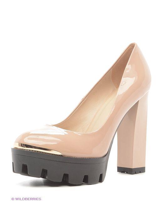 Shelly | Женские Бежевые Туфли