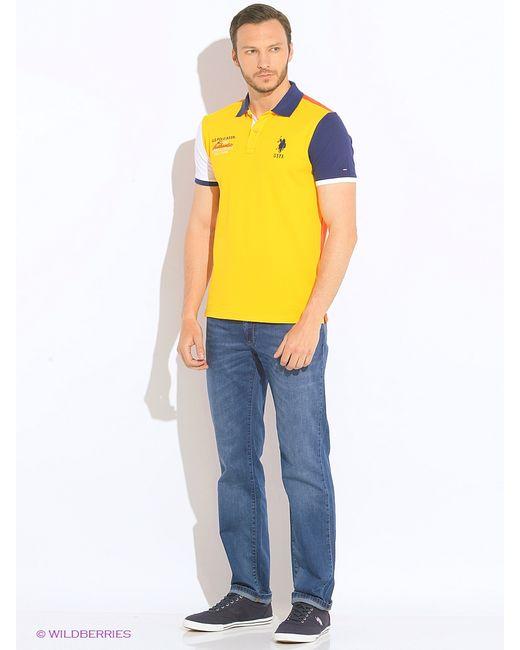 U.S. Polo Assn. | Мужские Голубы Джинсы