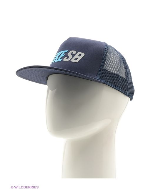 Nike   Женские Синие Бейсболки
