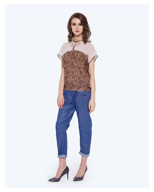 LO | Женские Коричневые Блузки