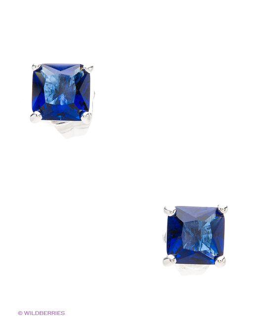 Royal Diamond | Женские Синие Серьги