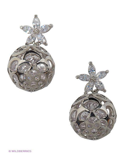 Lovely Jewelry   Женские Серебристые Серьги