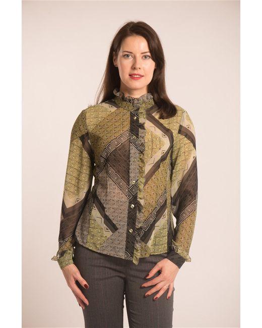 Essa | Женские Оливковые Блузки