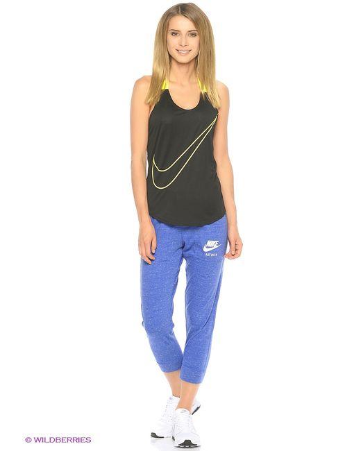 Nike | Женское Синее Капри