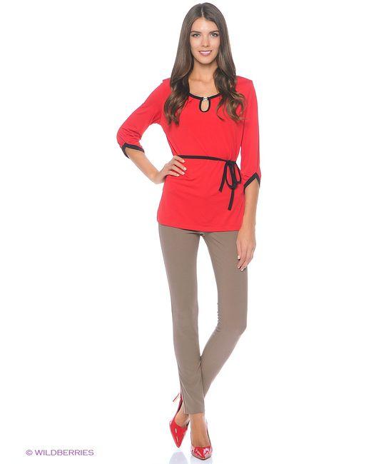 Фэст   Женская Красная Блузка