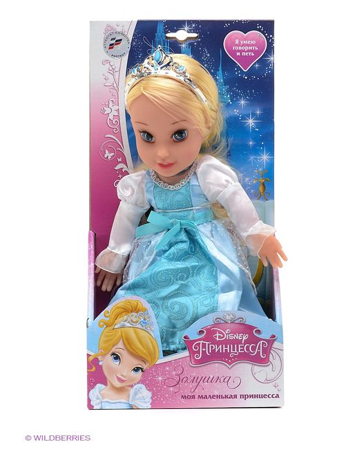 Карапуз   Голуба Кукла Disney Принцесса. Золушка