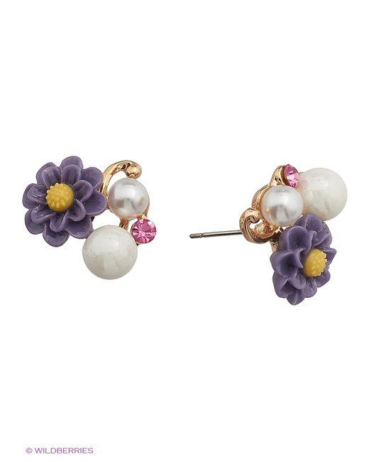 Royal Diamond   Женские Фиолетовые Серьги