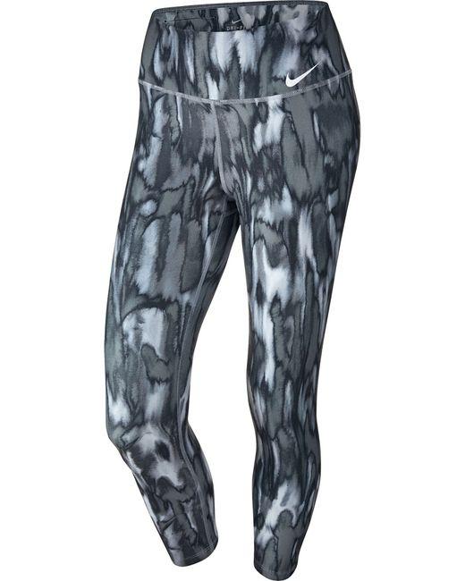 Nike | Женское Чёрное Капри Power Legend Training Crop