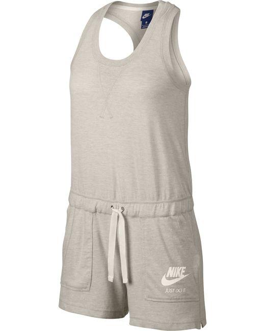 Nike | Женский Белый Комбинезон