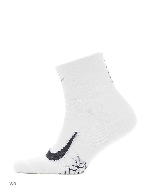 Nike | Мужские Белые Носки U Nk Elt Cush Qt-Rn