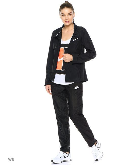 Nike | Женский Чёрный Лонгслив W Nk Jkt City Core