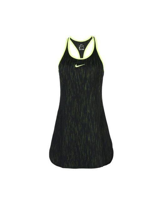 Nike | Женское Чёрное Короткое Платье