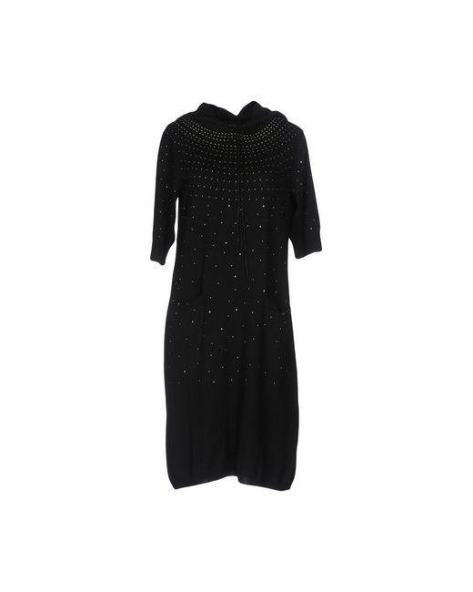 Cafènoir | Чёрное Платье До Колена