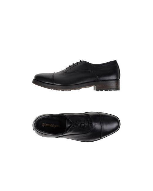 Edward Spiers | Мужская Чёрная Обувь На Шнурках