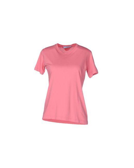 Prada   Женская Розовая Футболка