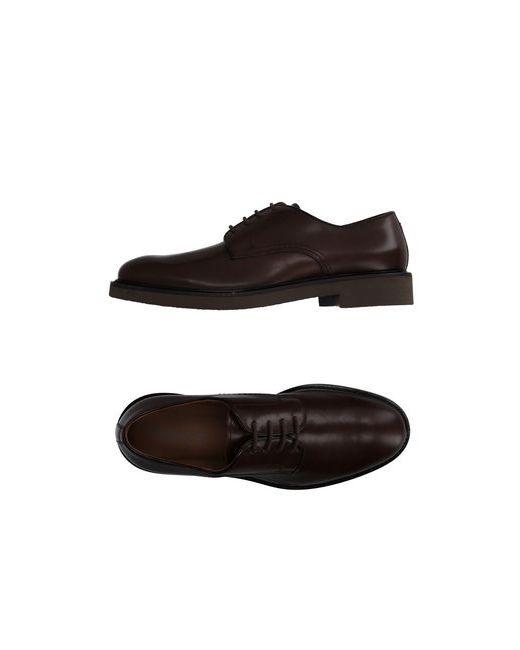 Doucal's | Мужская Коричневая Обувь На Шнурках