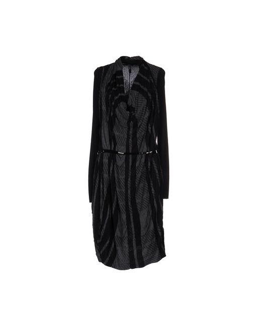 High | Женское Чёрное Платье До Колена