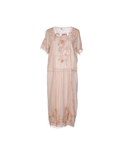 Local Apparel   Женское Телесное Платье До Колена
